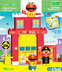 sesame street neighborhood collection fire house
