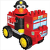 sesame street neighborhood collection fire truck