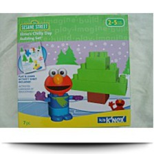Kid Sesame Street Elmos Chilly Day Building