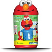 Sesame Street Kick It Elmo Building Set