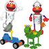 k'nex sesame street elmo's adventure dragon