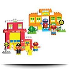On Salekid Knex Sesame Street Neighborhood