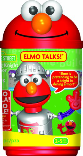 K'nex Sesame Street Talking Knight In Armor Elmo Building Set